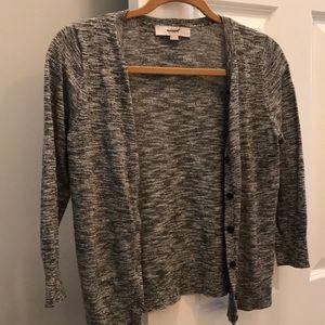 Outlet loft cardigan sweater